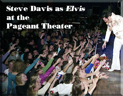 Elvis at the Pageant with audience