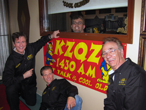 KZQZ with banner funny