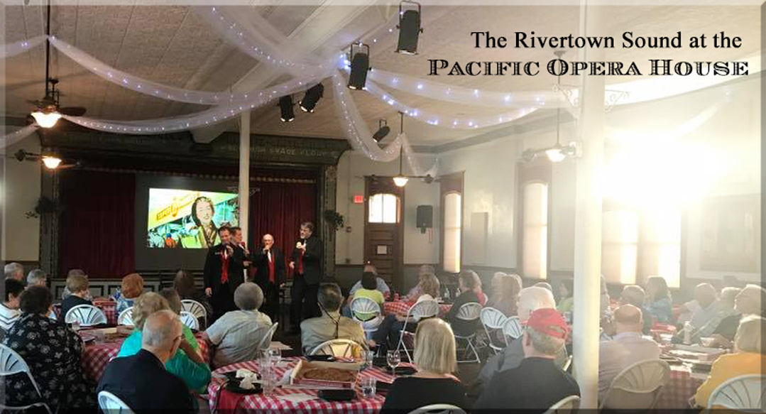 Pacific Opera - long shot of                             audience